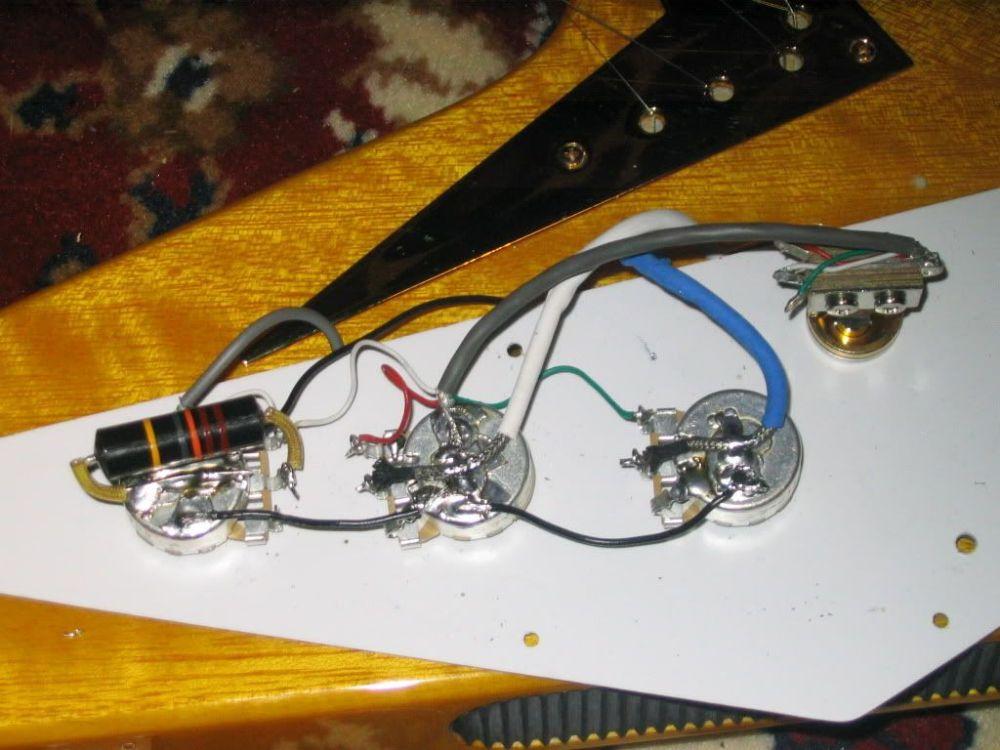 medium resolution of  epiphone flying v guitar wiring diagram on gibson reverse flying v gibson l6 s