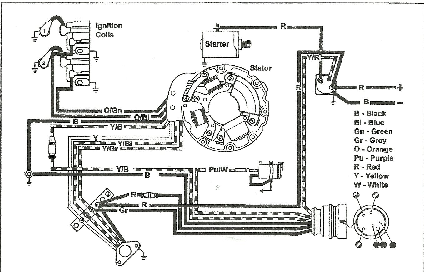 Evinrude Ignition Wiring Diagram