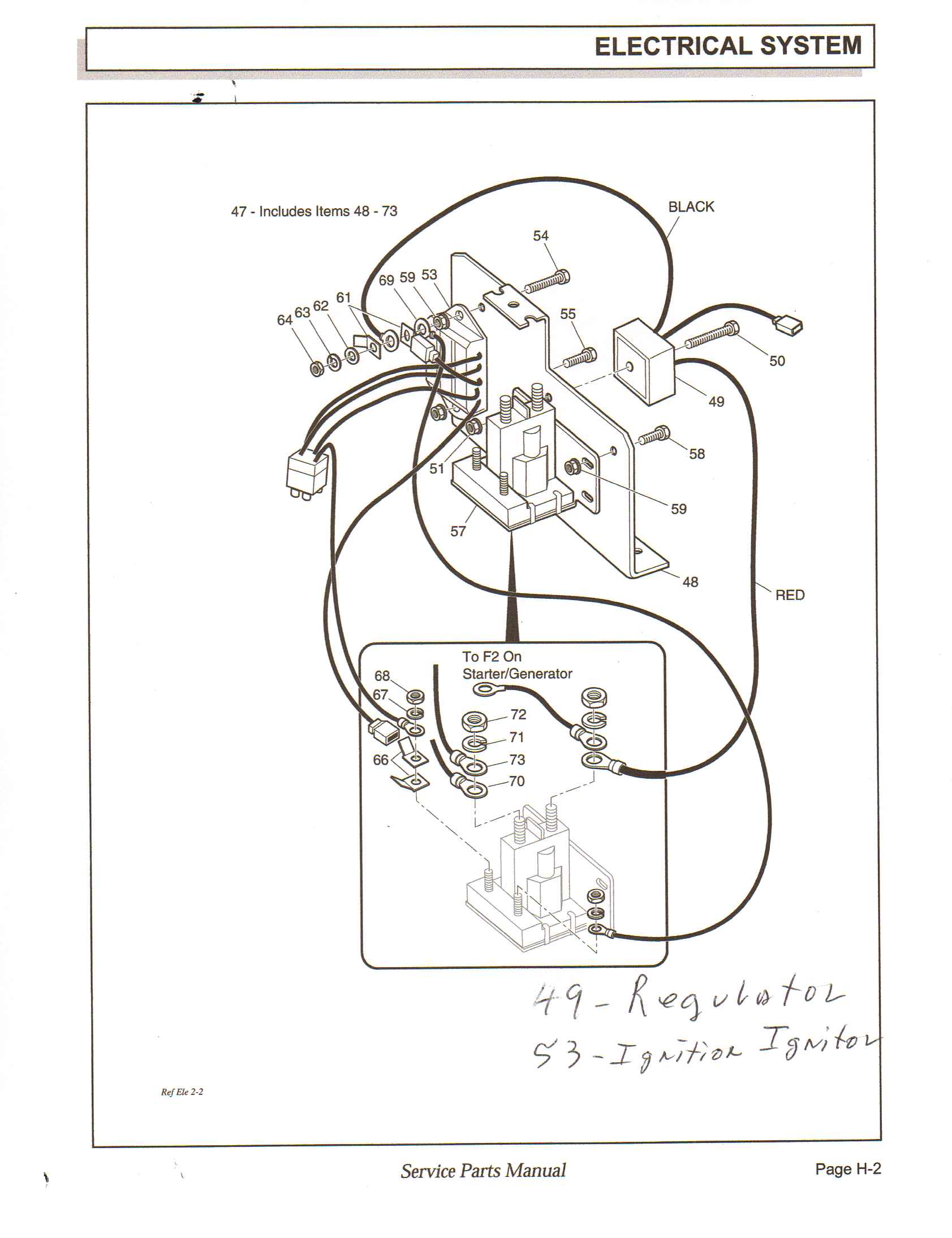 Ezgo Txt Electric Forward And Reverse Switch Wiring Diagram