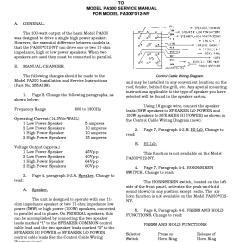 Federal Signal Pa300 Siren Wiring Diagram Battery Level Indicator Circuit