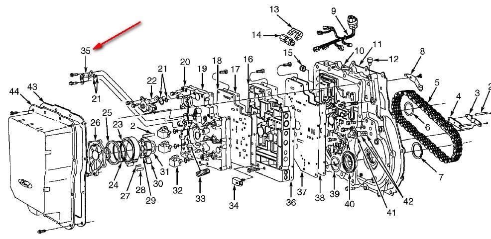 Ford E4od Transmission Wiring Diagram