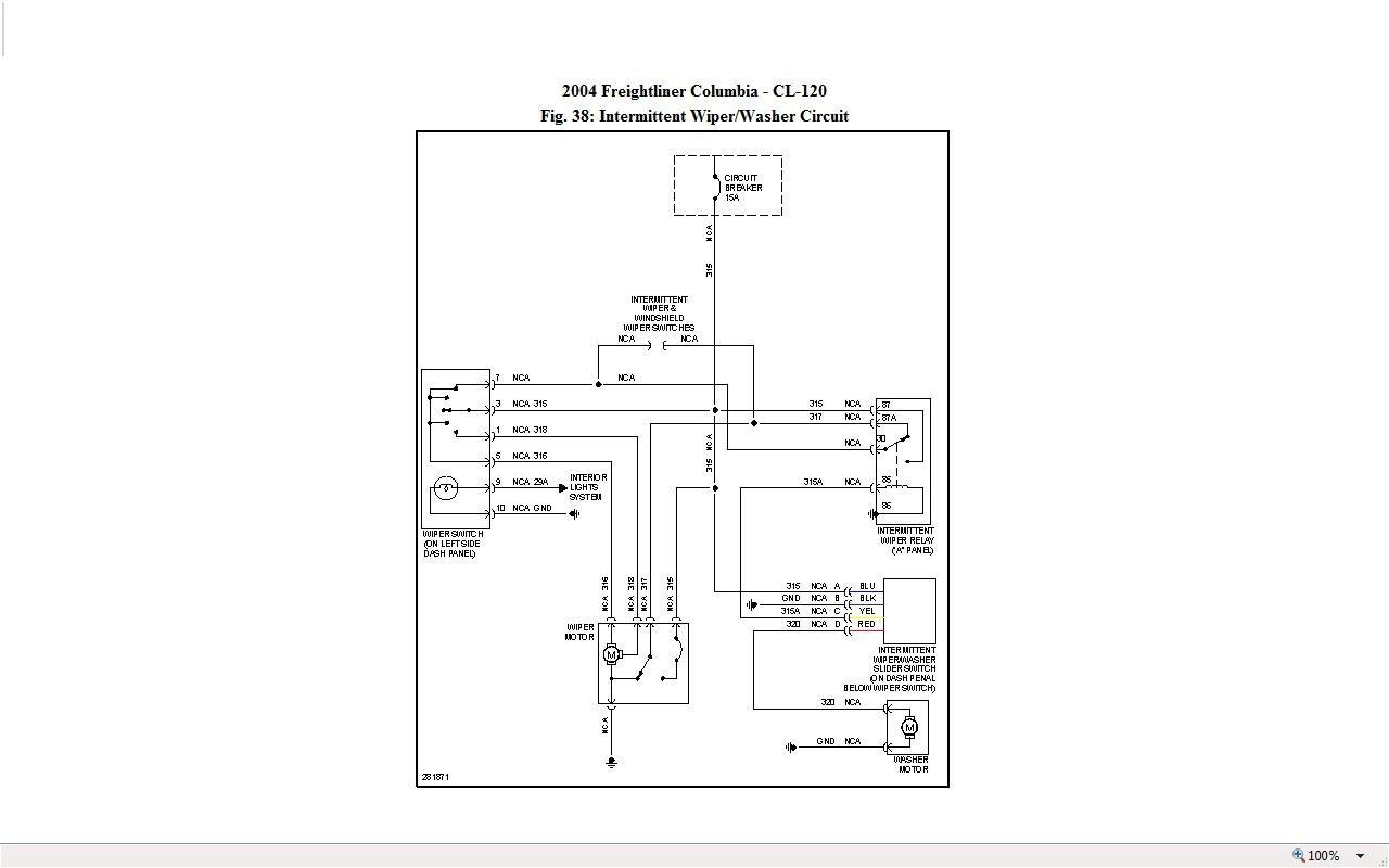 hight resolution of 2003 freightliner blower wiring diagram