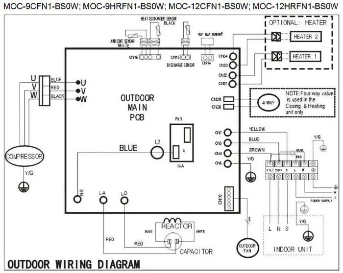 Fujitsu Aou45rlxfz Wiring Diagram
