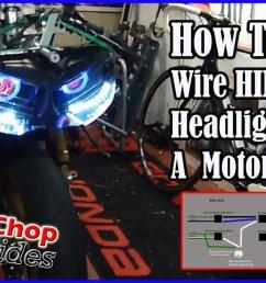 xenon headlight wire diagram [ 1280 x 720 Pixel ]