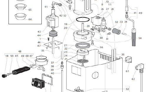 Gaggia Classic Parts Diagram