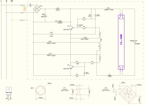 small resolution of 2 lamp electronic ballast wiring diagram