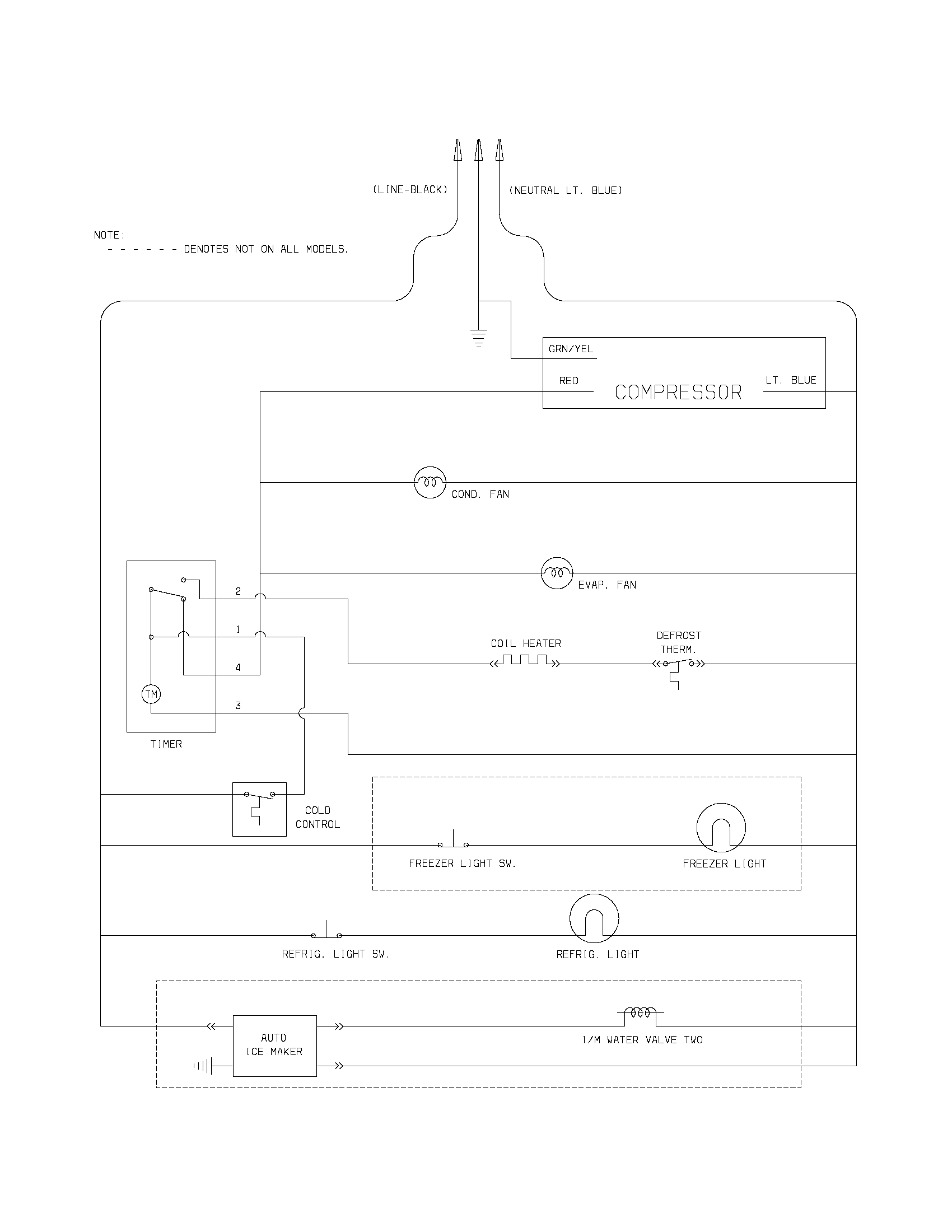 Ge Model Aew08lvq1 Wiring Diagram