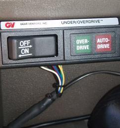gear vendor overdrive wiring diagram [ 1024 x 768 Pixel ]
