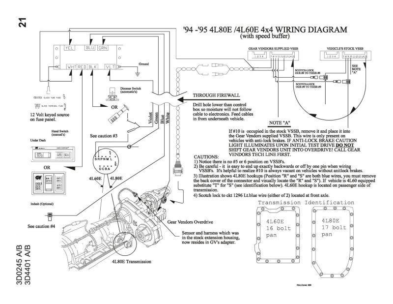 4l80e Transmission Plug Diagram | brandforesight co