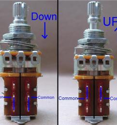 guitar pot wiring diagram [ 1152 x 990 Pixel ]