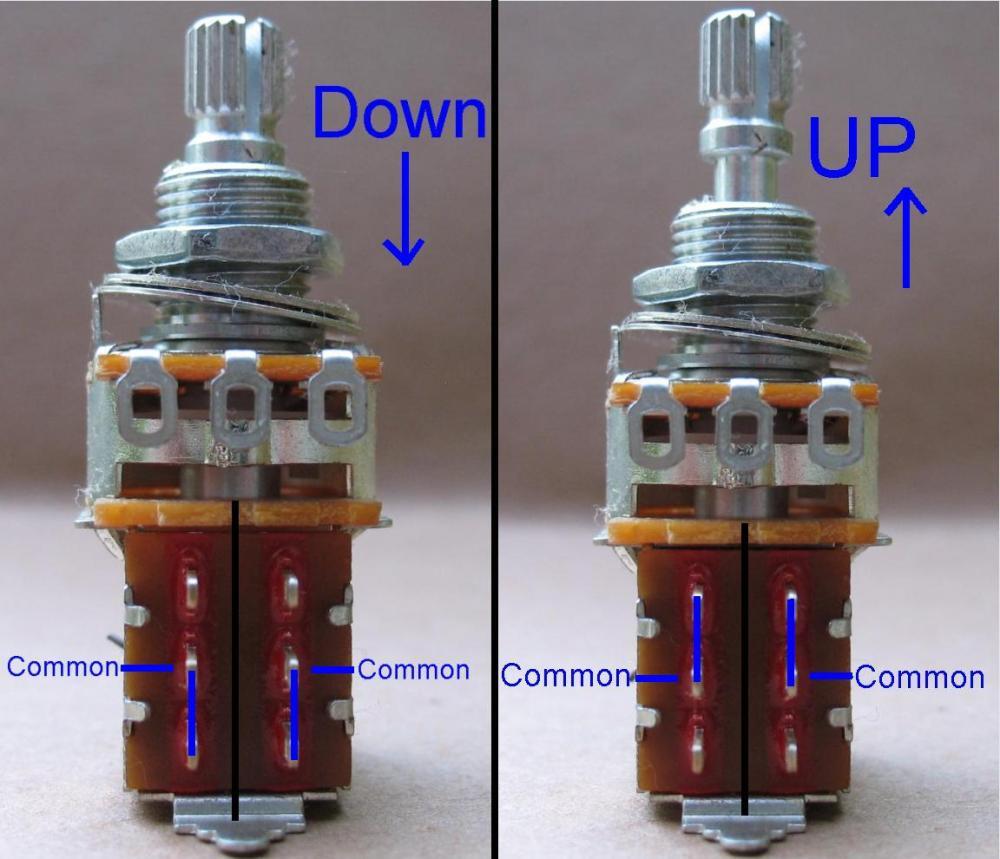 medium resolution of guitar pot wiring diagram