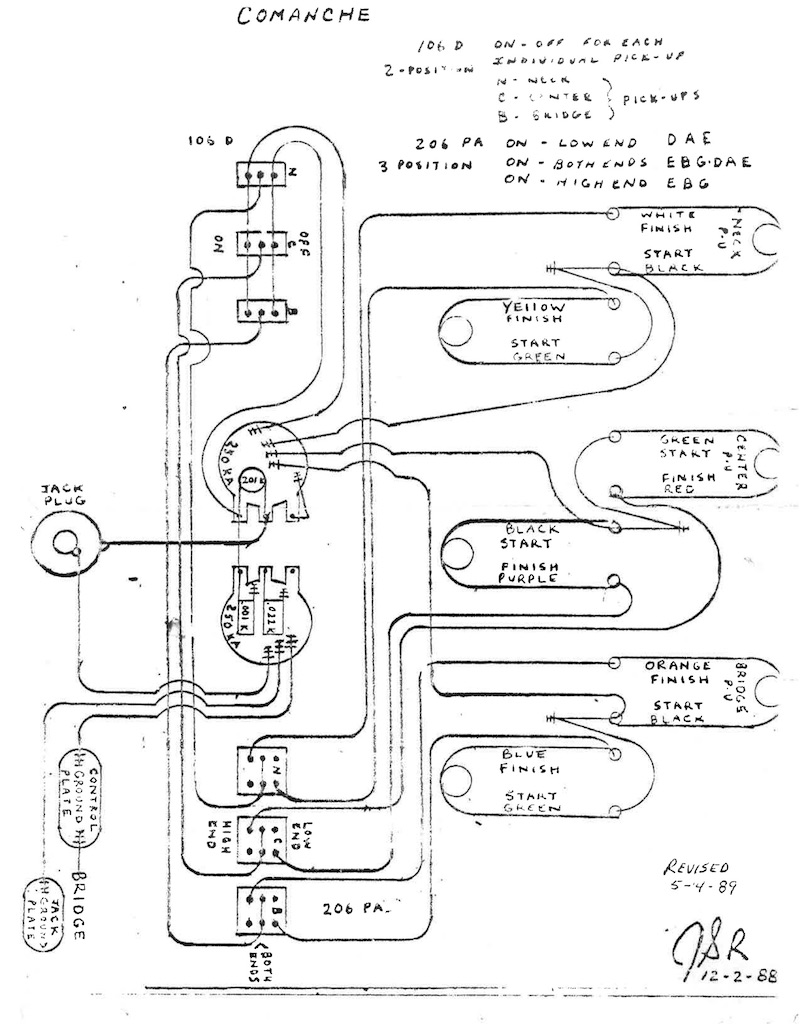G&l Wiring Diagram
