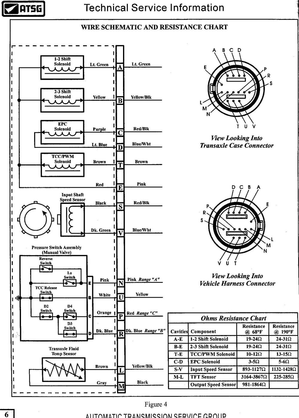 medium resolution of 4t65e transmission wiring diagram