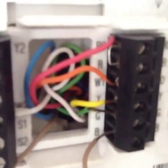 Goodman Package Heat Pump Wiring Diagram Hot Rod Telecaster 3 Ton Going To Thermostat