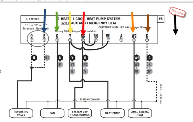 diagram honeywell 5000 thermostat wiring diagram full