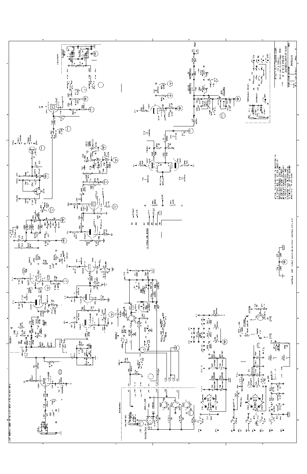 Harbinger L502 Wiring Diagram