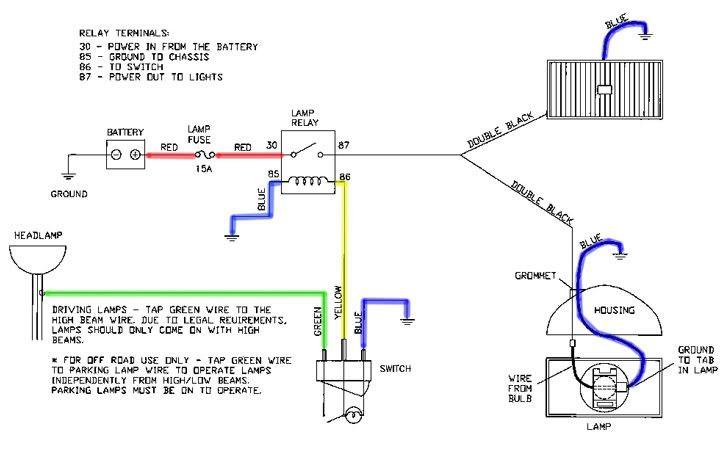 Wiring Diagram For Lightforce Driving LightsWiring Diagram