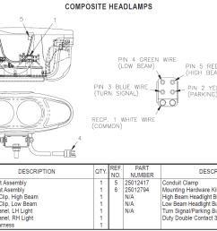 truck lite plow light wiring diagram [ 1309 x 821 Pixel ]