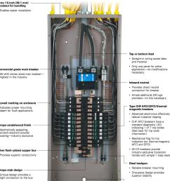 homeline breaker box wiring diagram [ 1342 x 1354 Pixel ]