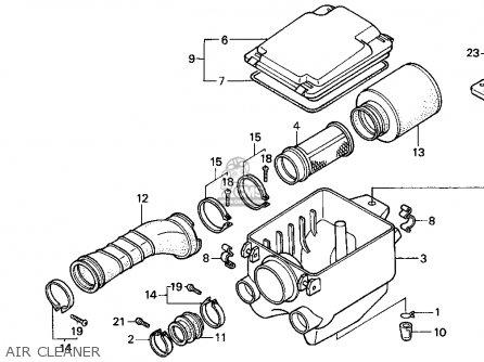 Honda 300ex Carburetor Diagram