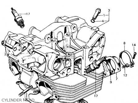 Honda Cb450k5 Wiring Diagram