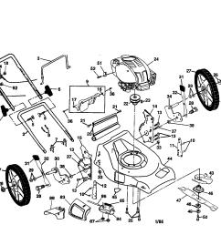 honda mower engine part diagram [ 2200 x 1696 Pixel ]