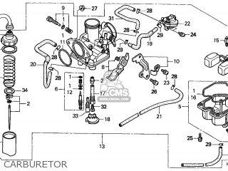 Honda Recon Carburetor Diagram