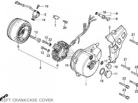 Honda Reflex Scooter Wiring Diagram