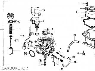 Honda Spree Parts Diagram