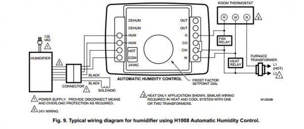 Honeywell He365b Wiring Diagram