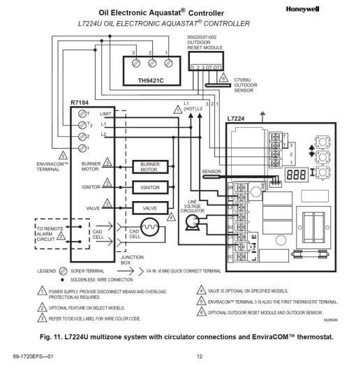 small resolution of honeywell rth3100c thermostat wiring diagram