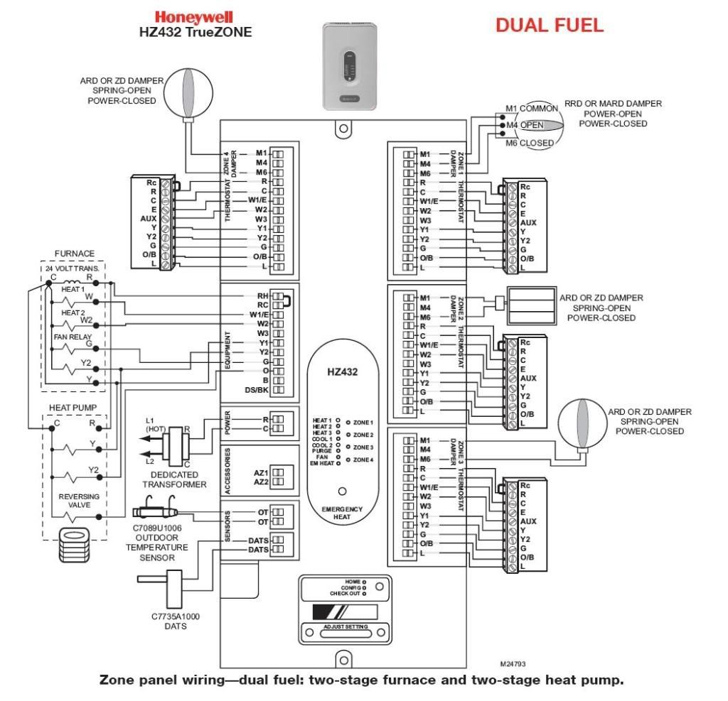 Honeywell Visionpro Wiring Diagram