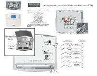 Hunter Thermostat 44260 Wiring Diagram 2wire - Electricity ...