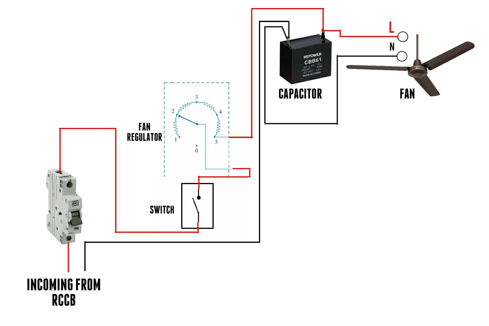 Hampton Bay Motor Wiring Diagram