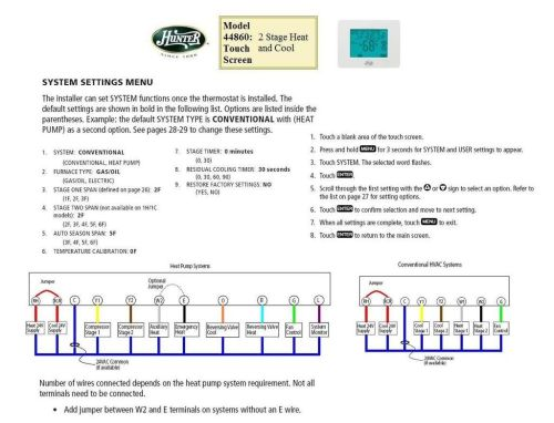 small resolution of hunter 2wire thermostat wiring diagram online wiring diagram hunter 40170 thermostat wiring diagram fan