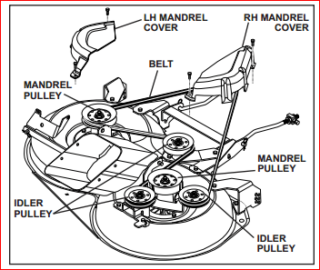 Husqvarna Yth2348 Drive Belt Diagram
