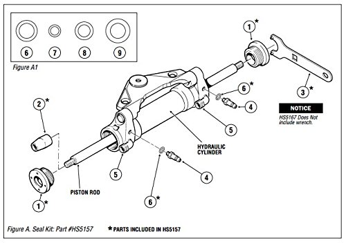 Hynautic Steering Diagram