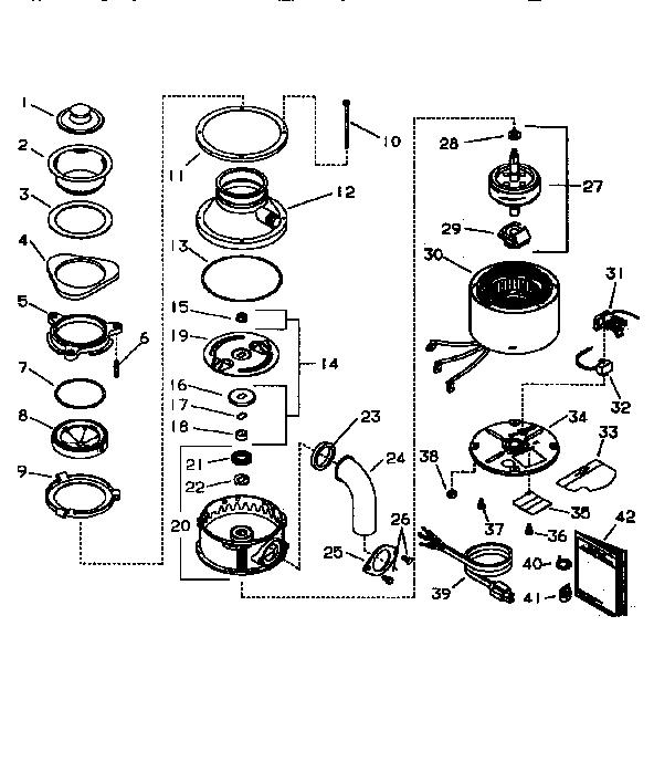 Insinkerator Badger 1 Parts Diagram