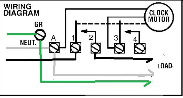 Intermatic T101 Timer Wiring Diagram