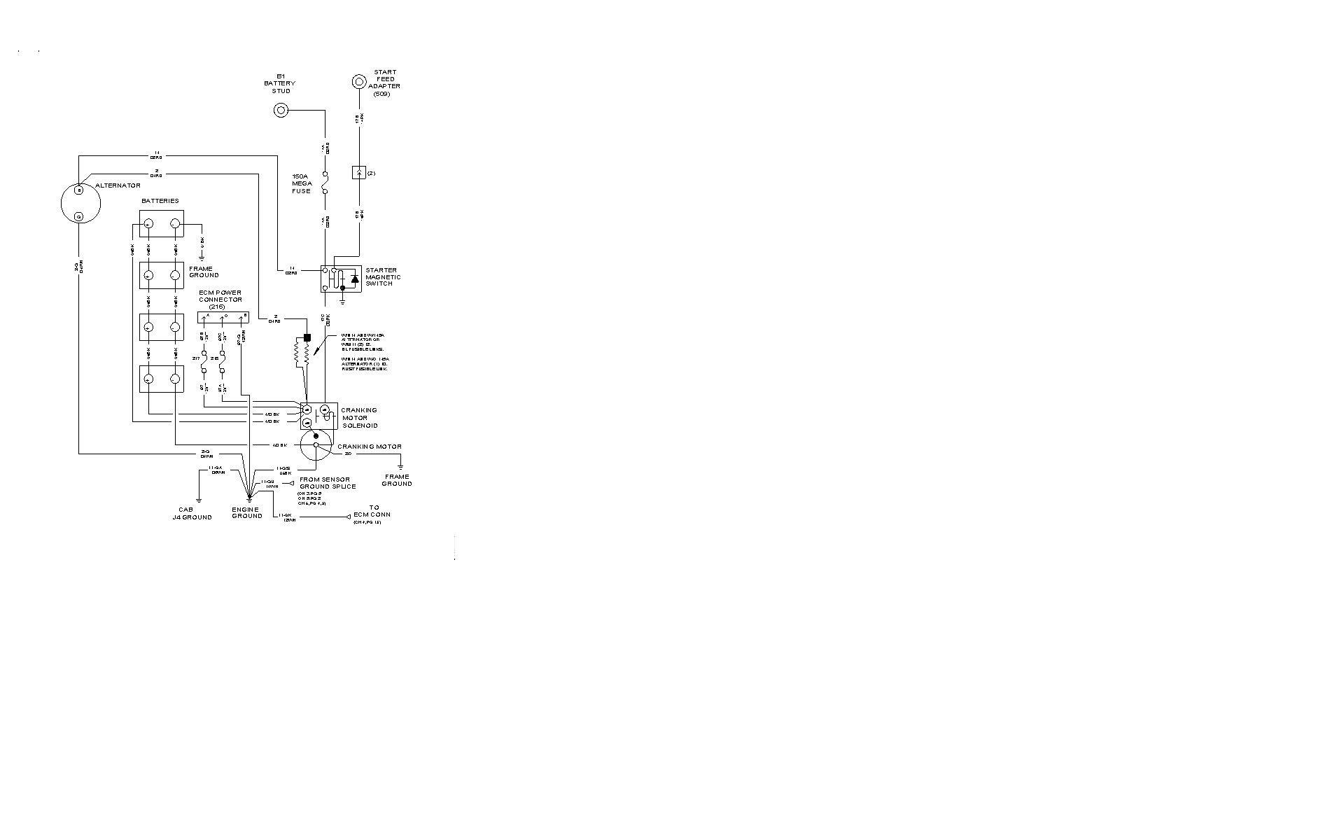 hight resolution of international prostar engine diagram