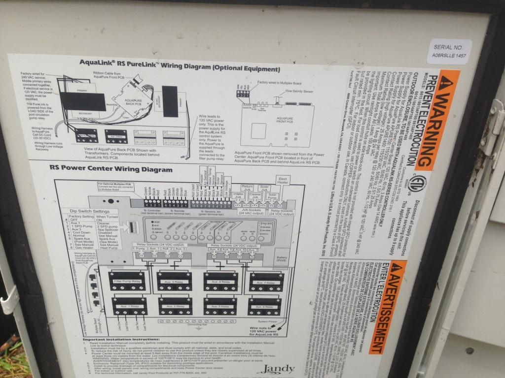Diagram Besides Pool Pump Wiring Diagram On Jandy Pool Equipment