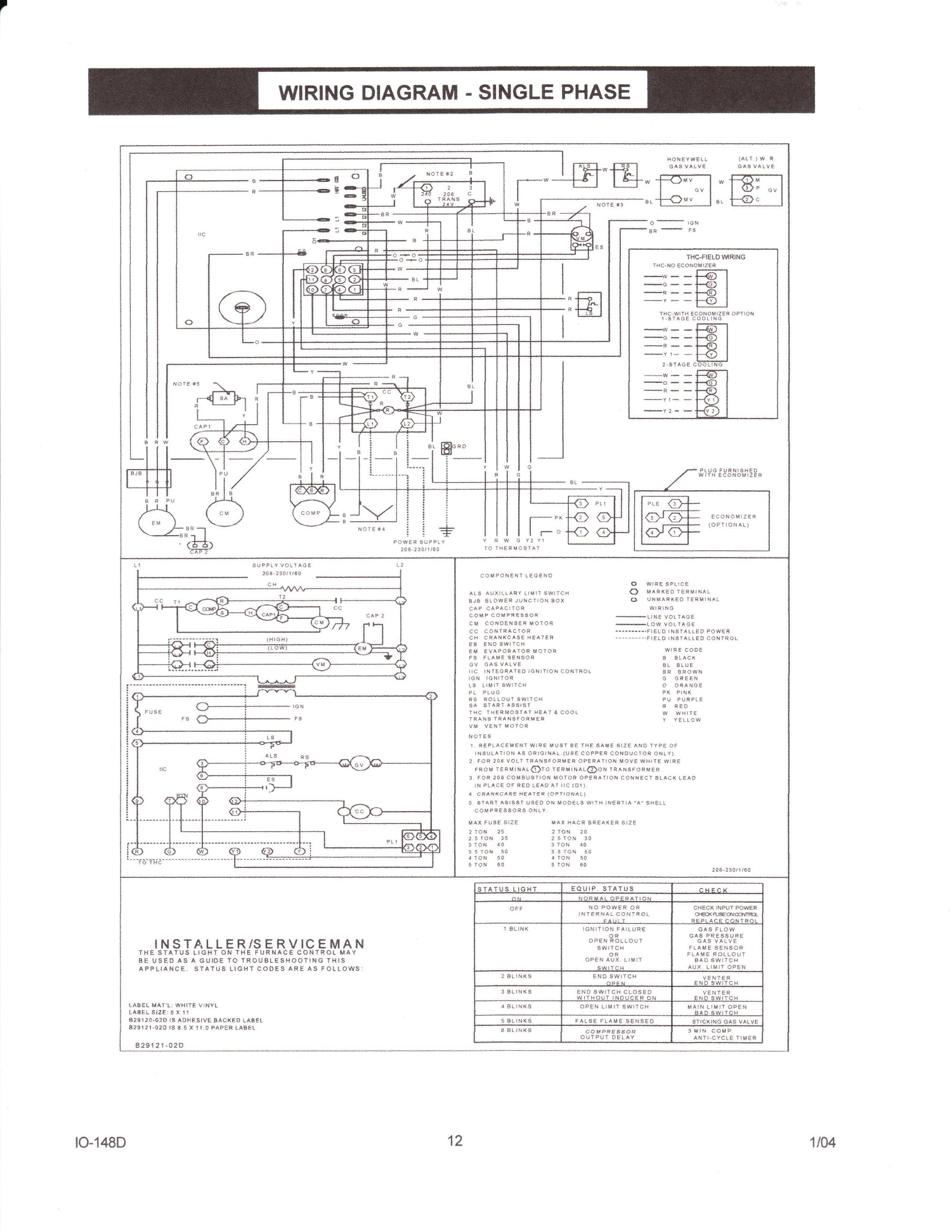 hight resolution of janitrol thermostat wiring diagram