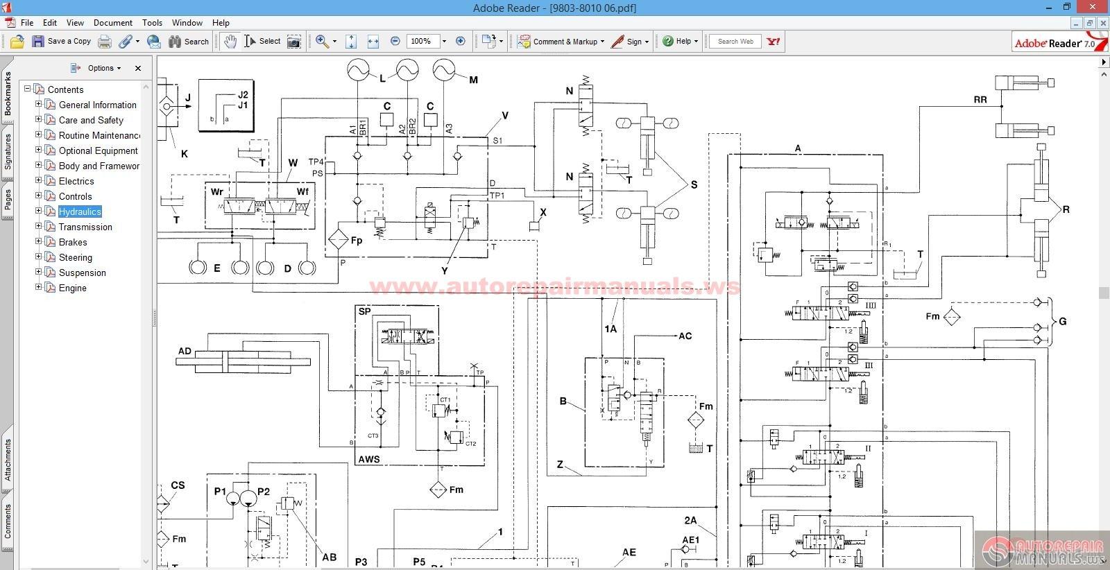 hight resolution of jcb backhoe wiring schematic
