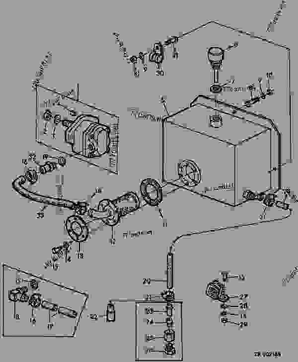 John Deere 1032 Blower Motor Wiring Diagram