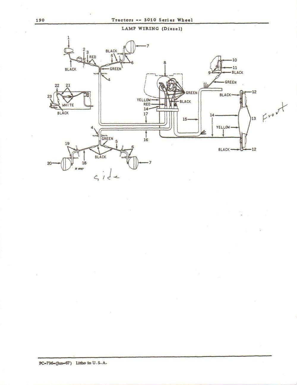 medium resolution of john deere 2020 wiring harnes