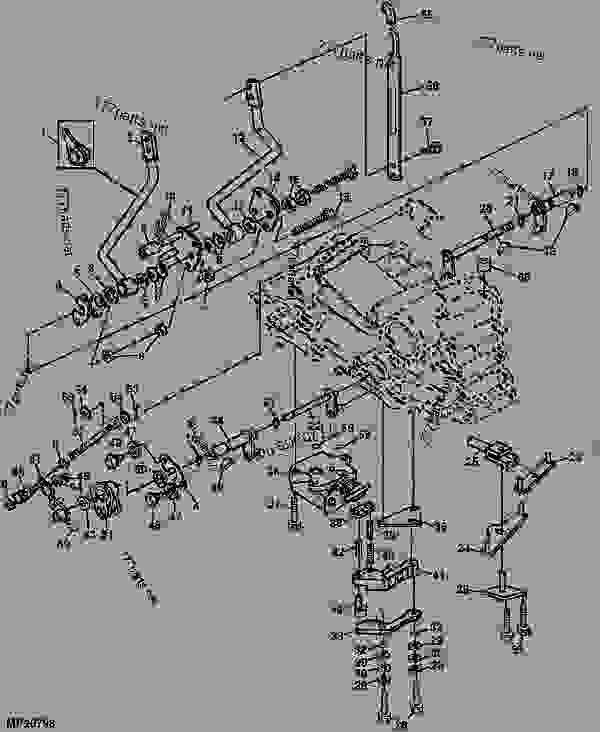 John Deere 4600 Wiring Diagram