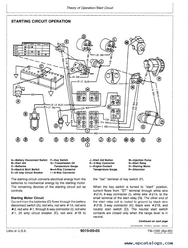 [DIAGRAM] Radio Wiring Diagram John Deere FULL Version HD