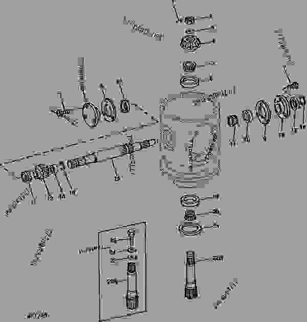 John Deere D105 Transmission Diagram