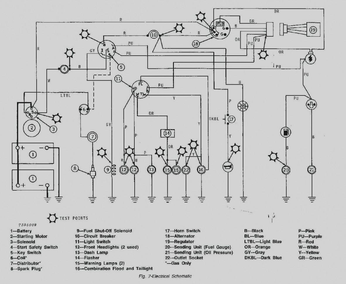 John Deere Lt155 Wiring Diagram