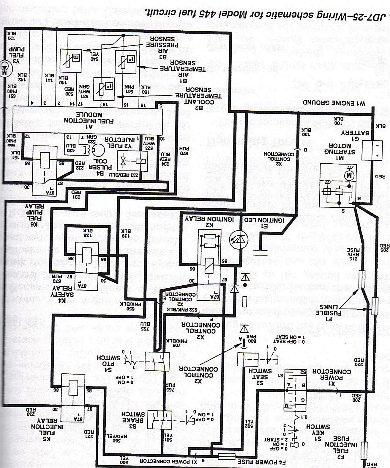 John Deere X485 Wiring Diagram